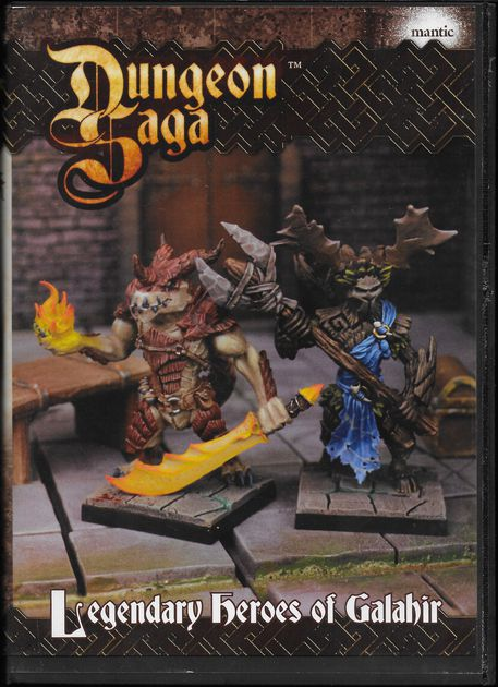 Dungeon Saga: The Legendary Heroes Of Galahir