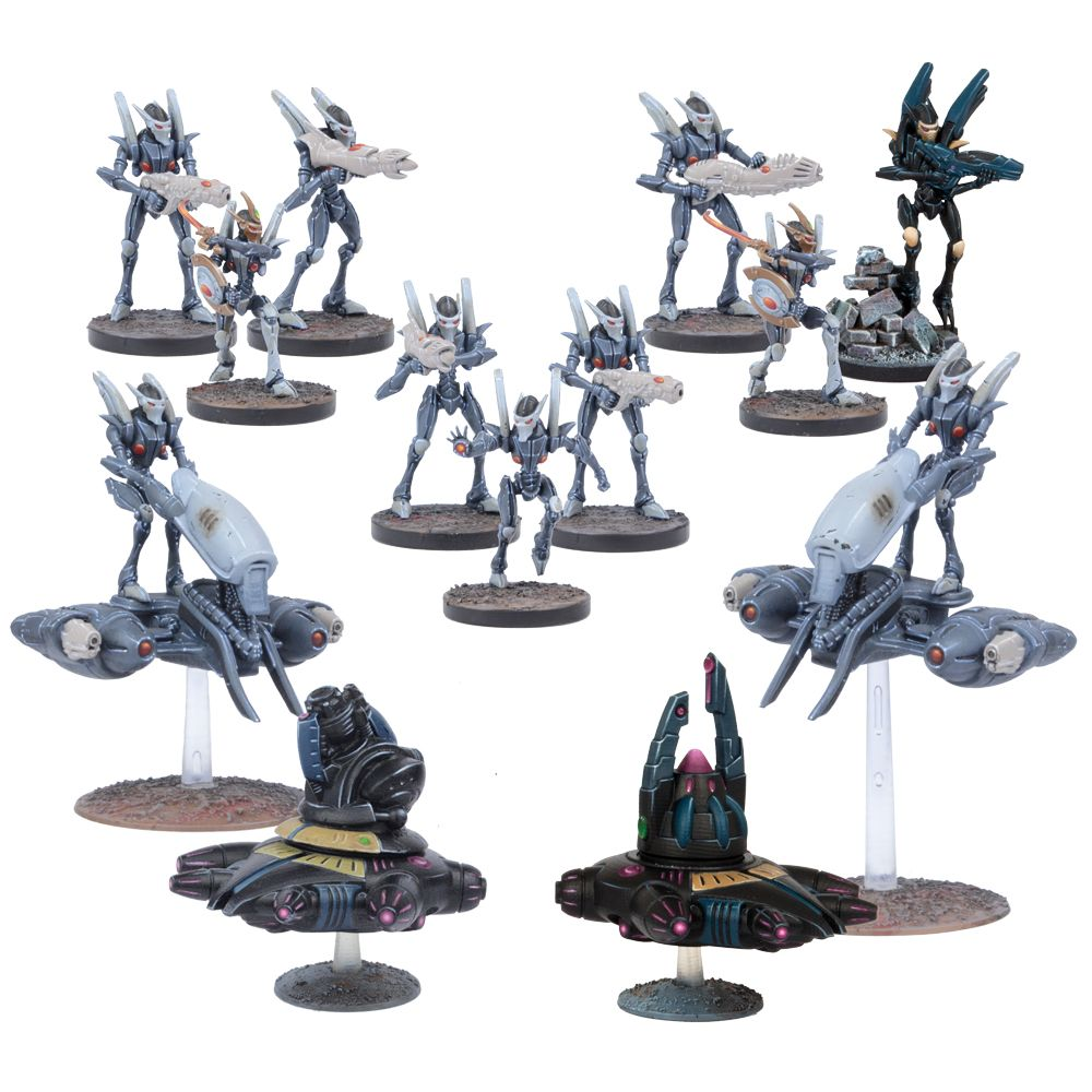 Deadzone: Asterian Faction Booster Set (20)
