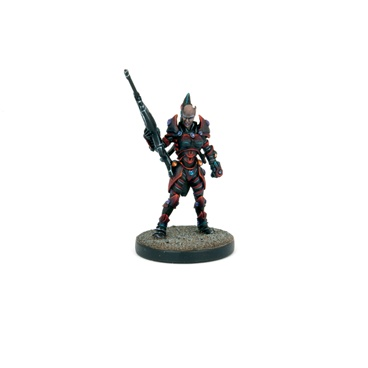 Deadzone Mercenary-nastanza, Twilight Huntress Box Front