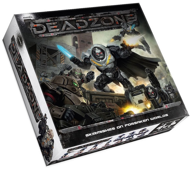 Deadzone: 2nd Edition Starter Set Box Front