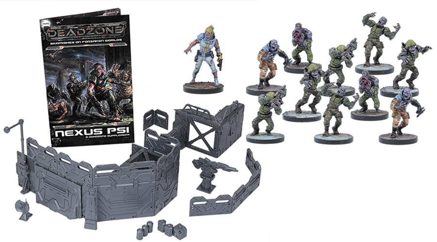 Deadzone: Nexus Psi Expansion Set (11) Box Front