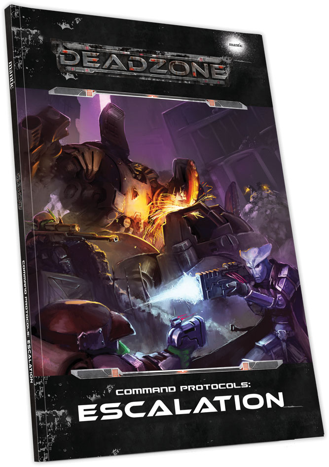 Deadzone: Command Protocols - Escalation Game Box