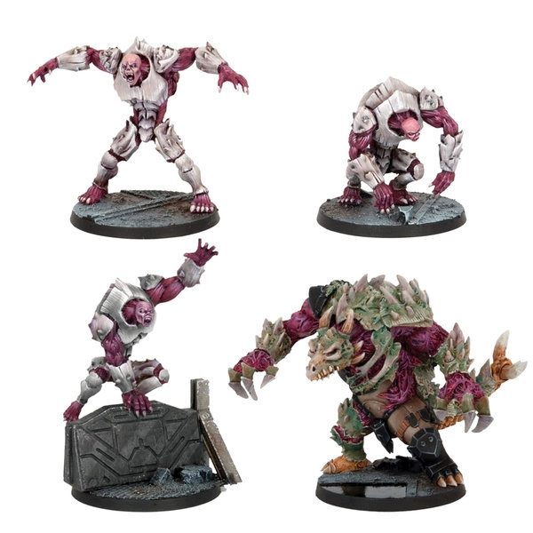 Deadzone: Plague Monsters Booster Set (4)