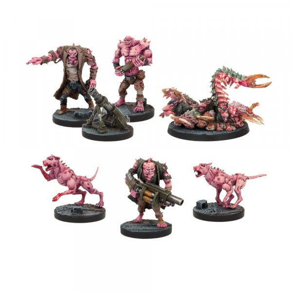 Deadzone: Plague Support Booster Set (7)