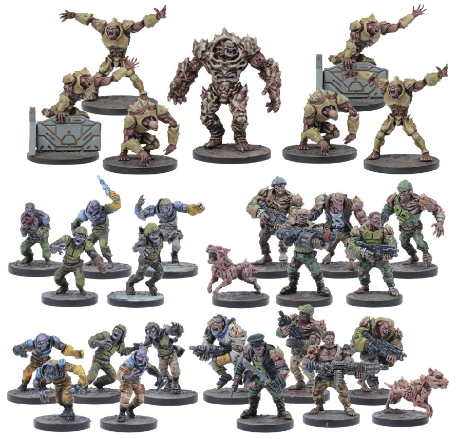 Deadzone: Plague Faction Starter Set (29) Box Front