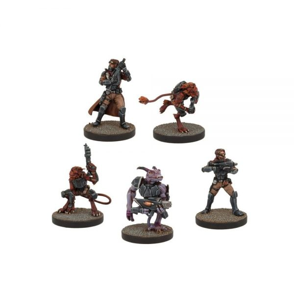Deadzone: Rebs Troops Booster Set (5)