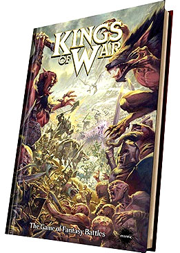 Kings Of War: Rulebook Hardback 2nd Edition Box Front