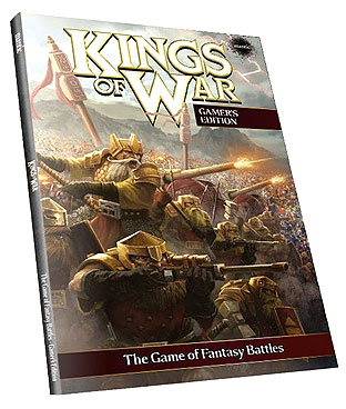 Kings Of War: Rulebook Softback 2nd Edition Box Front