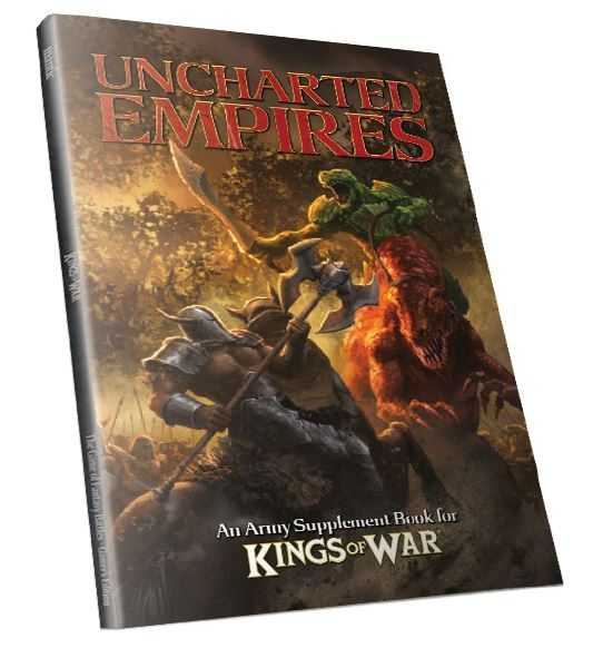Kings Of War: Uncharted Empires, 2nd Edition Box Front