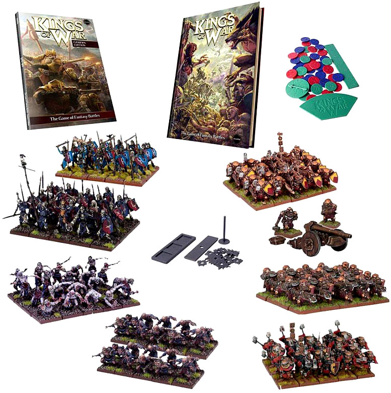 Kings Of War: Mega Two Player Starter Set Box Front