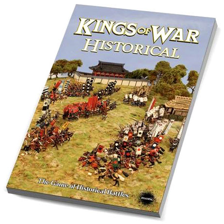 Kings Of War: Historical Manual Softcover Box Front