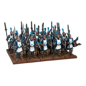 Kings Of War: Basilean Men-at-arms (20) Box Front