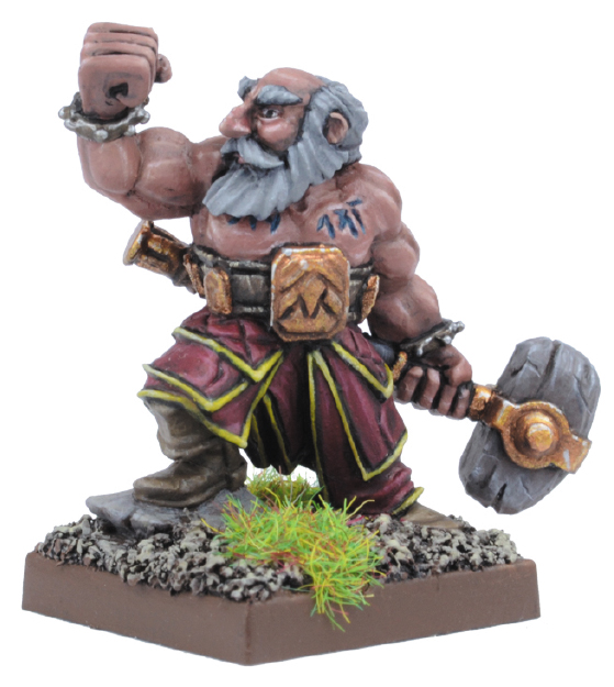 Kings Of War: Dwarf Stone Priest Box Front