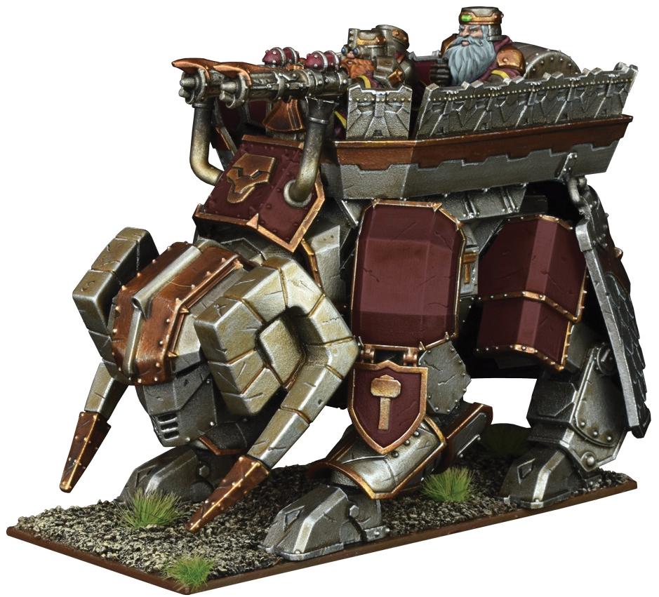 Kings Of War: Dwarf Steel Behemoth Box Front