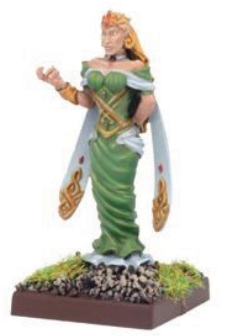 Kings Of War: Elf Mage Queen Box Front