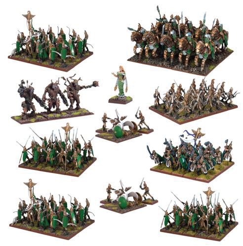 Kings Of War: Abyssal Dwarf Mega Force Set Box Front