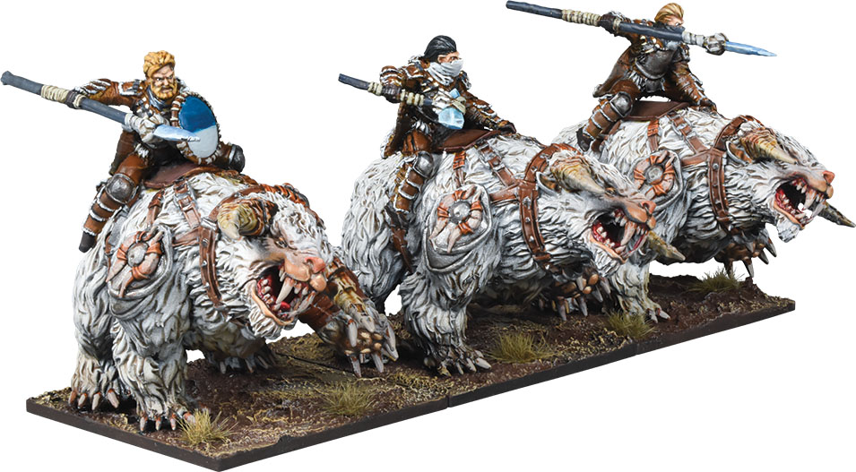 Kings Of War: 3rd Edition - Northern Alliance Frost Fang Cavalry Regiment Game Box