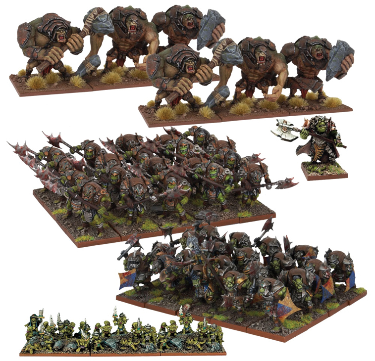 Kings Of War: Orc Army Box Front