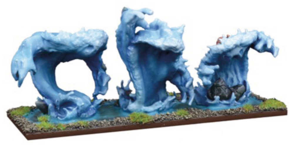Kings Of War: Water Elemental Regiment Box Front