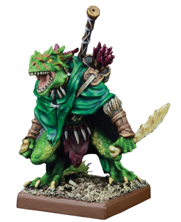 Kings Of War: Forces Of Nature Salamander Artakl, Gekkotah Clutch Warden Box Front