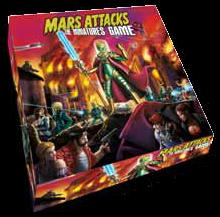 Mars Attacks: The Miniatures Game Box Front