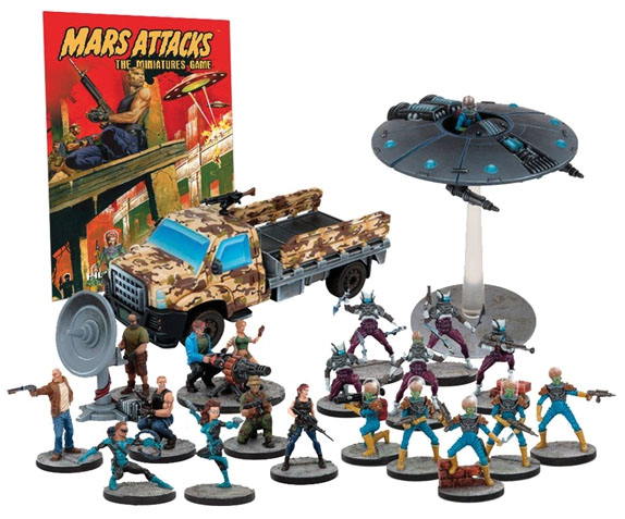 Mars Attacks: Humanity Resists Set Box Front