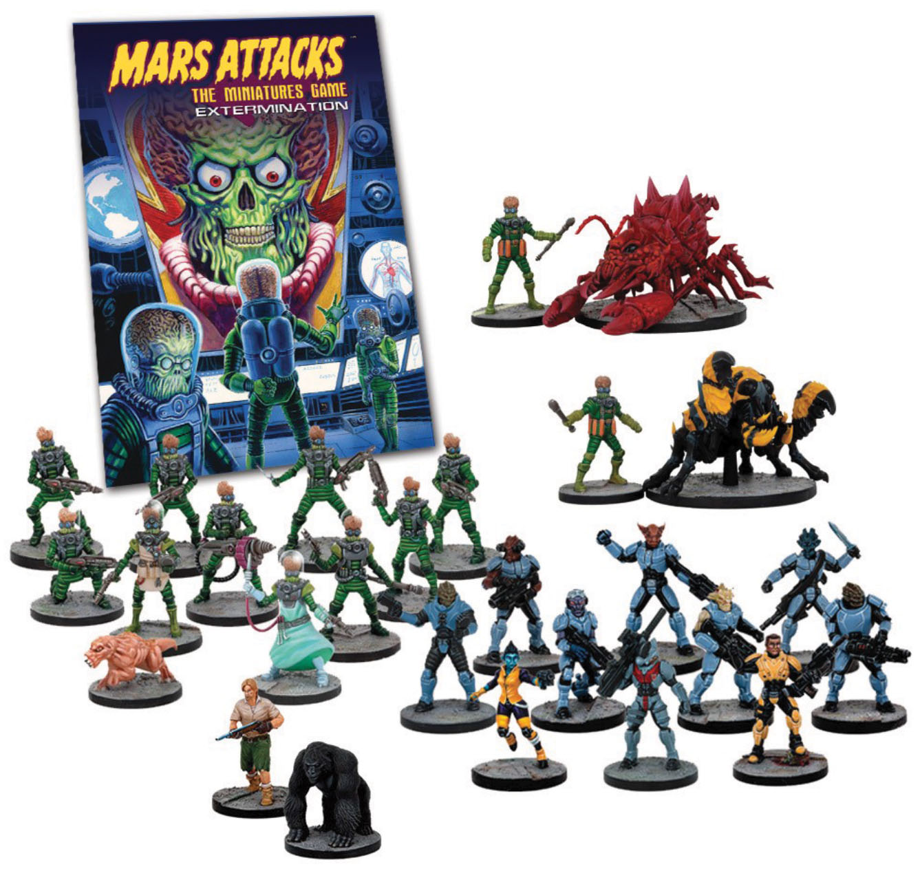 Mars Attacks: Extermination Expansion Box Front