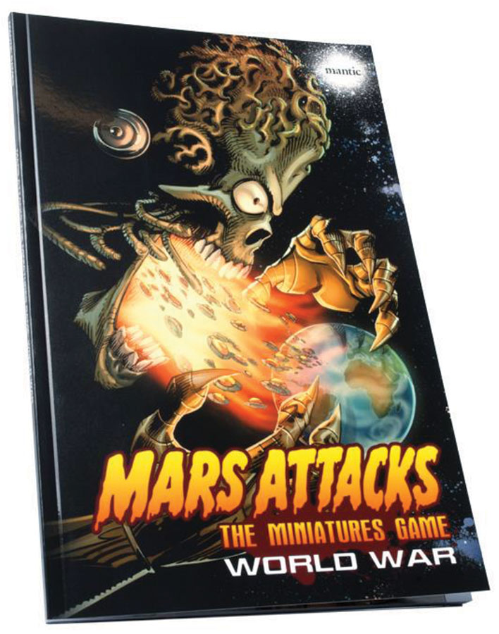 Mars Attacks: World War Box Front