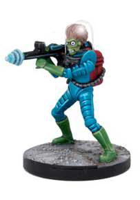 Mars Attacks: Martian Grunts Set (10) Box Front