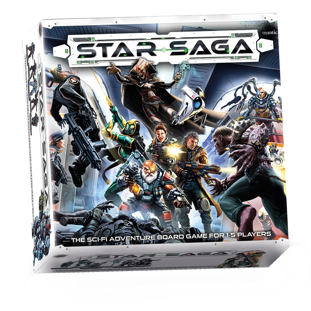Star Saga: The Eiras Contract (core Set) Box Front