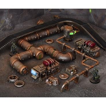Terrain Crate: Industrial Accessories Game Box