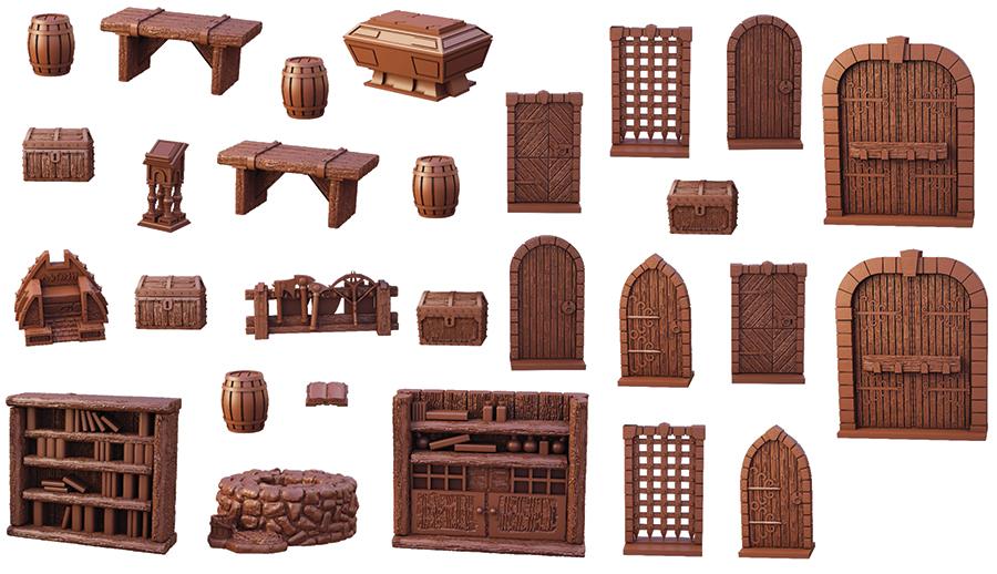 Terraincrate: Dungeon Essentials Game Box