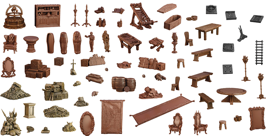 Terraincrate: Dungeon Depths Game Box