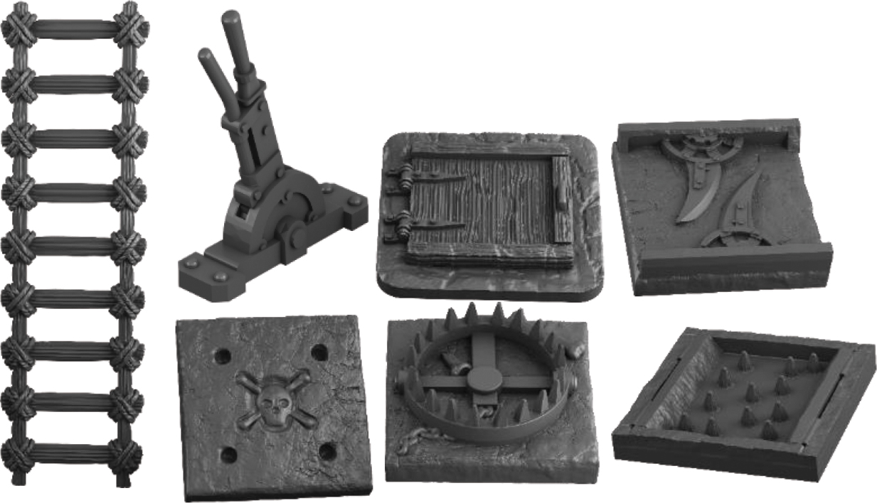 Terraincrate: Dungeon Traps Game Box