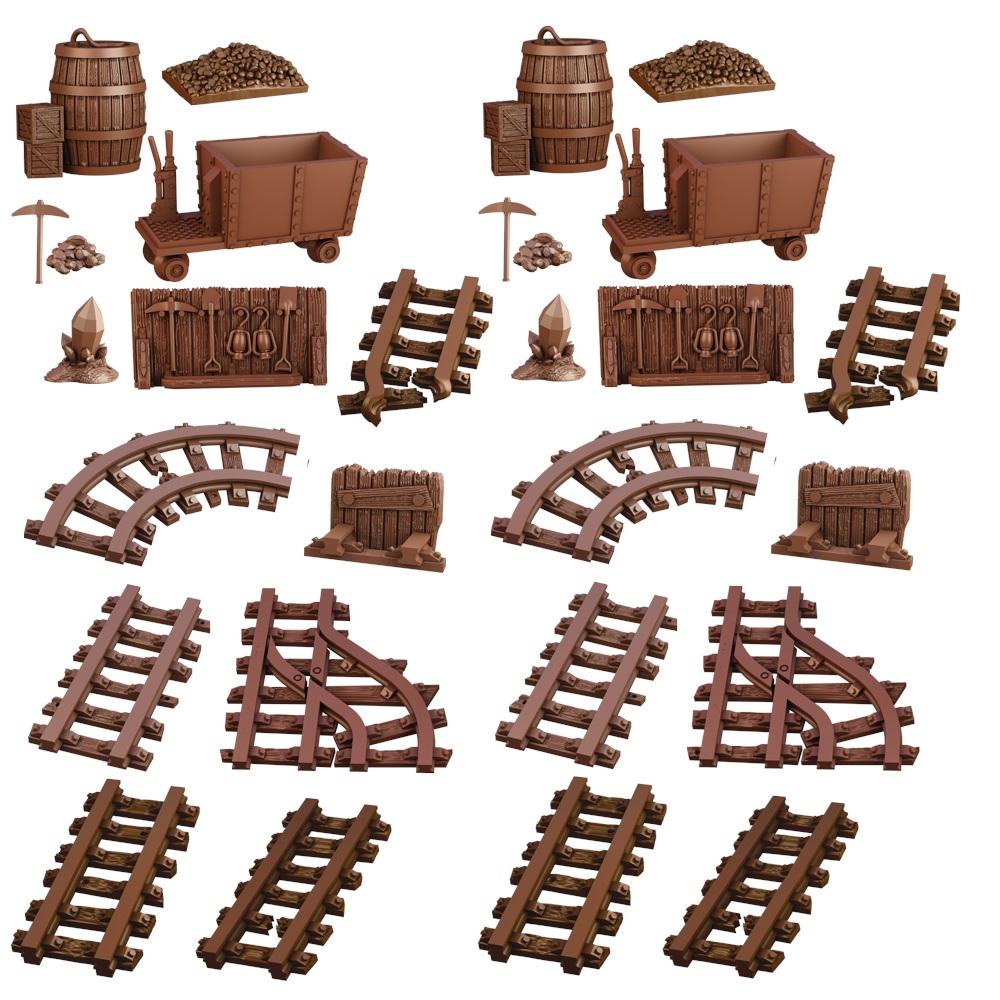 Terraincrate: Abandoned Mine Game Box