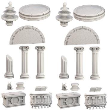 Terraincrate: Temple Game Box