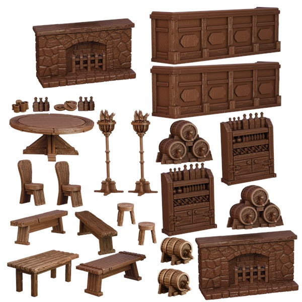 Terraincrate: Tavern Game Box
