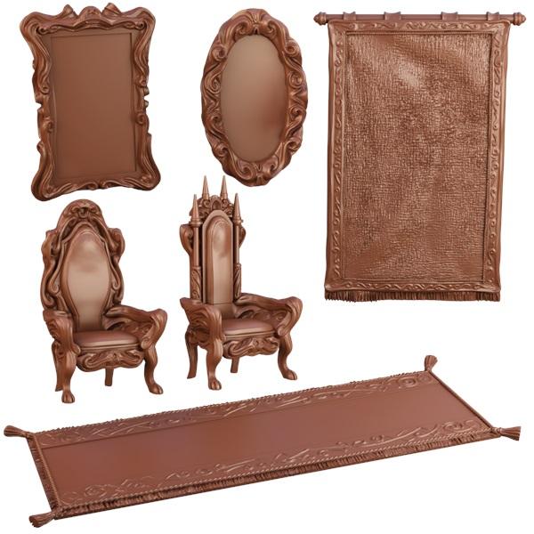 Terraincrate: Throne Room Game Box