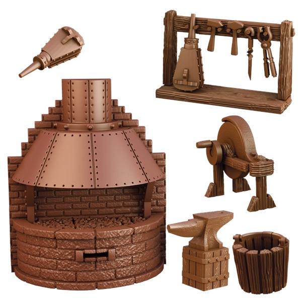 Terraincrate: Blacksmith`s Forge Game Box