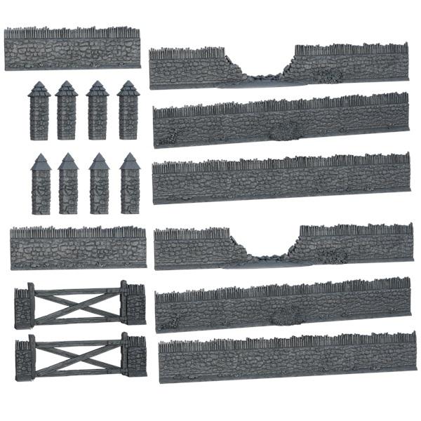 Terraincrate: Battlefield Walls Game Box