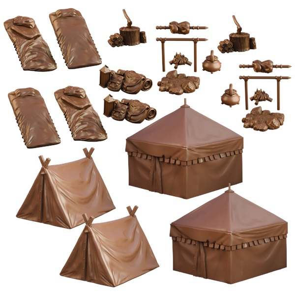 Terraincrate: Campsite Game Box