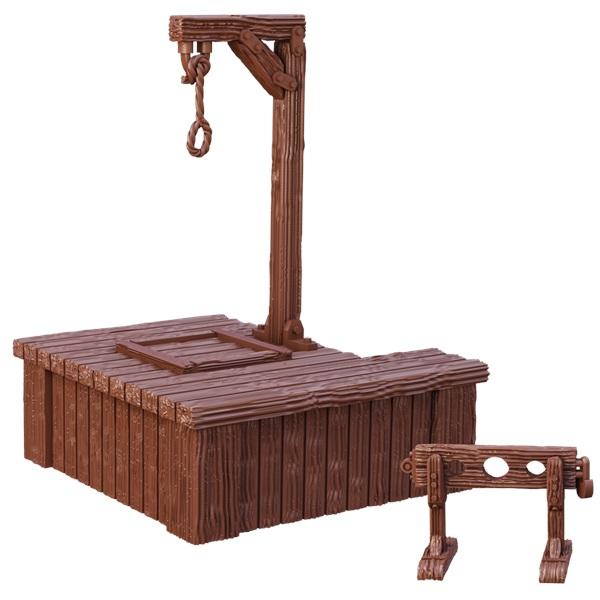 Terraincrate: Gallows & Stocks Game Box
