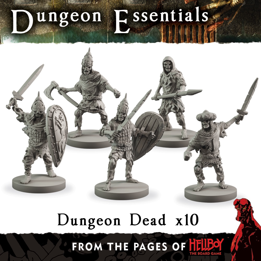 Terraincrate: Dungeon Dead (from The Pages Of Hellboy)