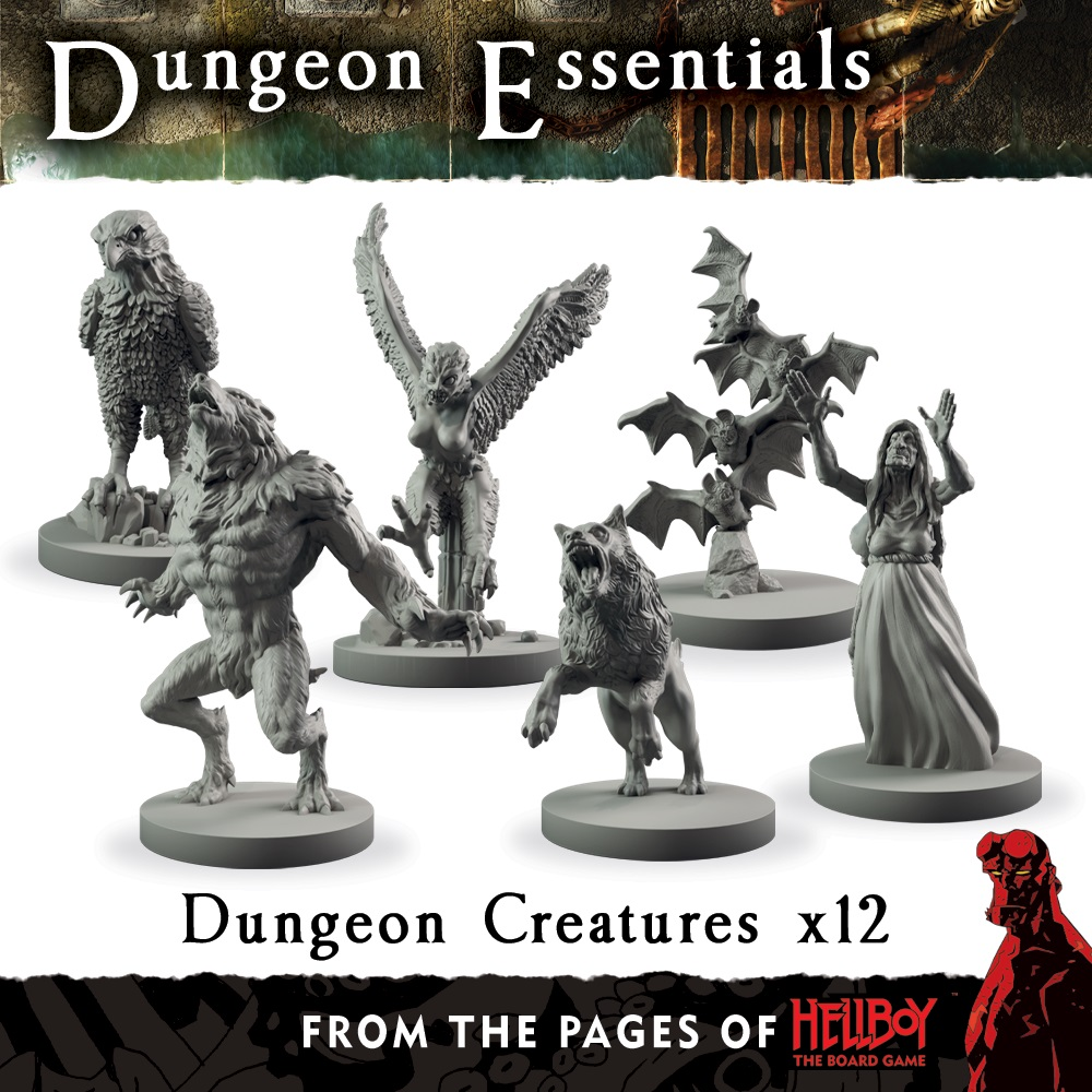 Terraincrate: Dungeon Creatures (from The Pages Of Hellboy)
