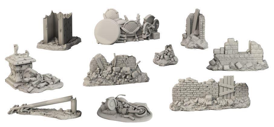 Terraincrate: Battlefield Debris (10)