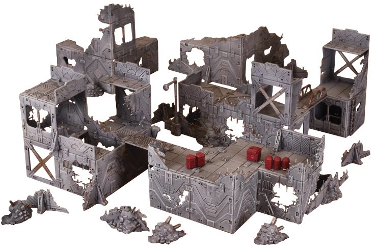 Terraincrate: Ruined City Box Front