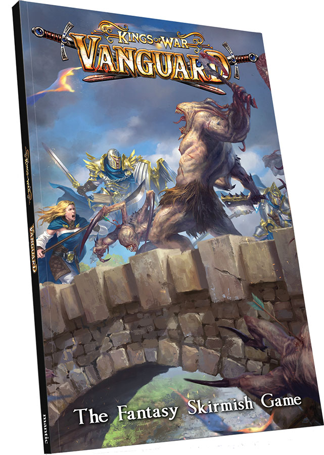 Kings Of War Vanguard: Rulebook Game Box