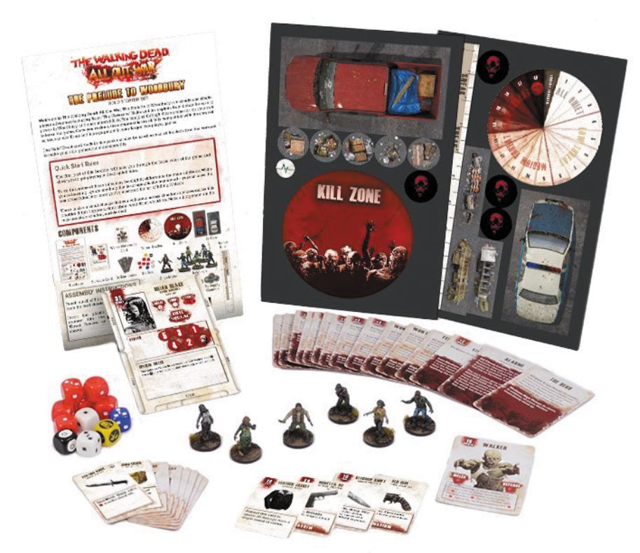 The Walking Dead: All Out War Prelude To Woodbury Expansion Box Front