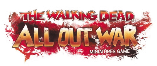 The Walking Dead: All Out War Wave 2 Floor Display Bundle Game Box