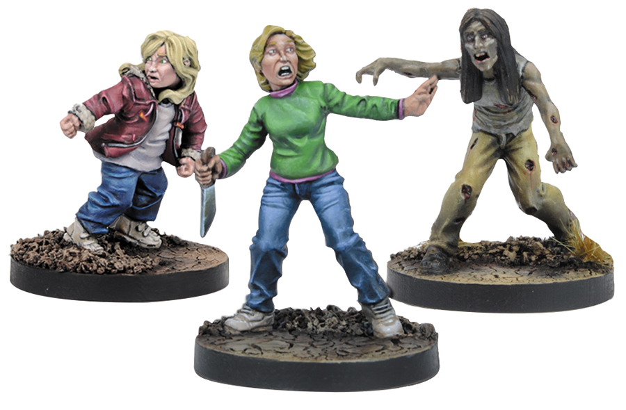 The Walking Dead: All Out War Carol Booster Expansion Box Front